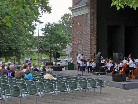 This 2011 photo shows the Philharmonic Orchestra of