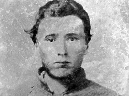 Daguerreotype of an unidentified Staunton youth, serving in the Confederate army. It is estimated that as many as 20 percent of those who fought in the Civil War were 16 years of age or younger.
