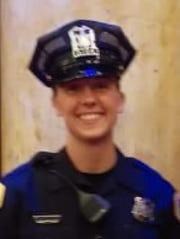 Des Moines police officer Susan Farrell
