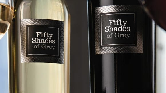 Fifty Shades of Grey inspired wine comes in white and red.