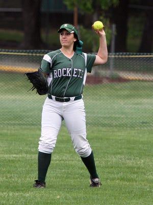 Raritan softball player Emily Schaffer.