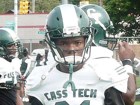 Detroit Cass Tech cornerback Kalon Gervin