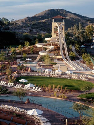 The resort fee at Arizona Grand Resort is $50 per night and includes access to its Oasis Water Park.