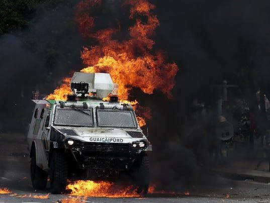 EPA VENEZUELA CRISIS WAR ELECTIONS CRISIS VEN