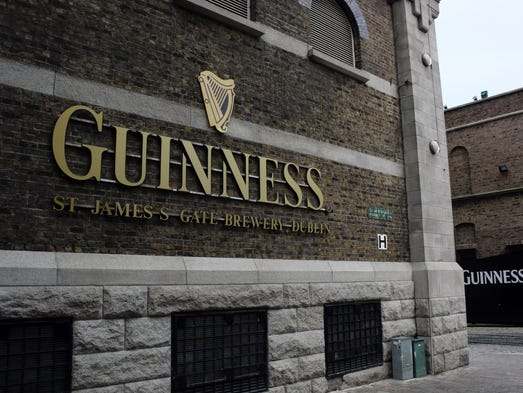 The Guinness campus is located in Dublin, Ireland's