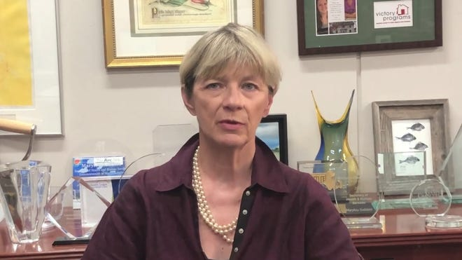 Health and Human Services Secretary Marylou Sudders told health care providers that closing long-term care facilities to visitors was one of the most difficult decisions she made during the pandemic.