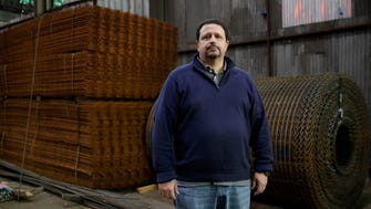 Vince Pappas, owner of Stone Steel Corporation, poses for a photo in his warehouse in Baltimore. Small businesses can expect some high-profile Obama administration regulations to be scrapped after Donald Trump takes office, with rules affecting overtime, sick leave and the environment among those likely to be scrapped. Pappas estimates he spends about 10 hours a week studying the regulations his company must comply with, and deciding how to minimize the impact.