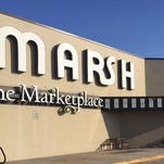 Marsh will put kiosks selling Indiana-grown foods, from raw vegetables to processed foods, in 50 stores.