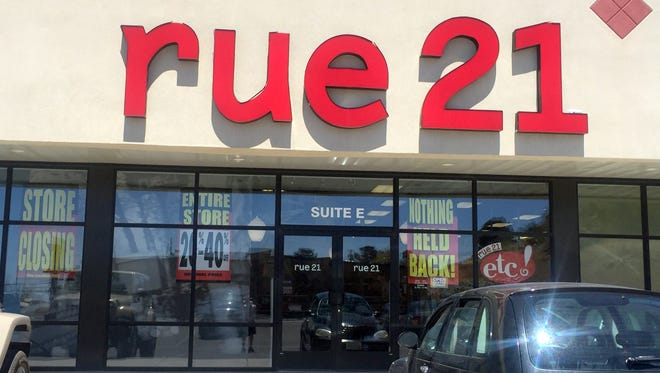 rue21 is the latest store to close its doors in Silver City. No timeframe has been set as to when the store will be completely closed, but the mark downs have begun.