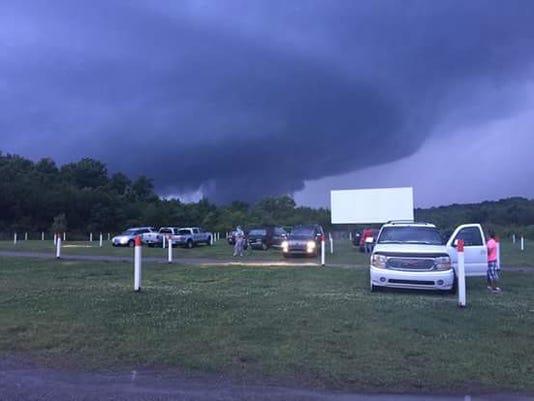 Tornado in Wilson County