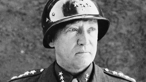 Gen. George S. Patton, whose grandson on Wednesday