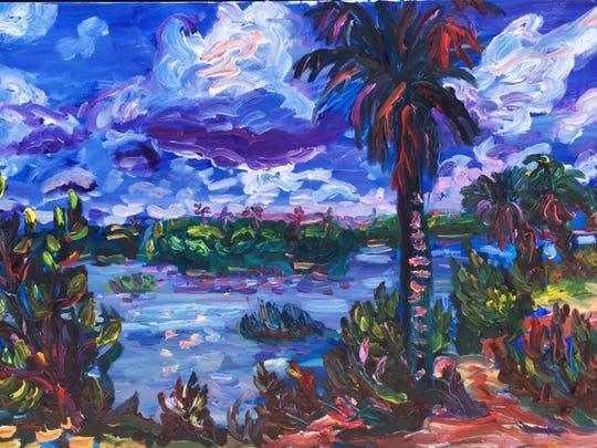 Julie Bowland's Mantanzas River.
