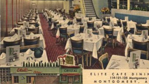 The Elite Cafe opened in 1911 and was the site of the last public performance by Hank Williams.