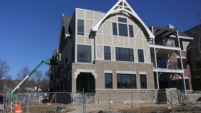 Shown on March 7, 2014, the Nolen Park condominium project in Mariemont was among the new residential developments that helped the village have one of the highest aggregate increases in real estate values in Hamilton County since the 2011 property reappraisal.
