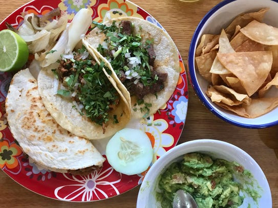Moderation isn't a thing at Tacos San Miguel II in