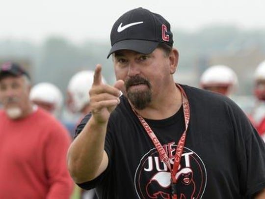 Tim Baechler went 173-52 during 20 seasons coaching the Canton Chiefs. He announced his retirement Monday night.