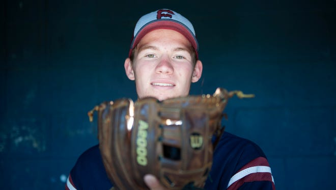 Eastern's Jesse Barbera is the Courier Post Pitcher of the Year for 2018.