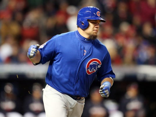 USP MLB: WORLD SERIES-CHICAGO CUBS AT CLEVELAND IN S BBO USA OH