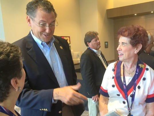 jackson woman gets birthday surprise at gop convention. Black Bedroom Furniture Sets. Home Design Ideas