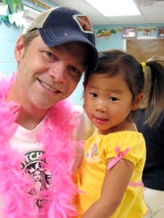 Steven Curtis Chapman attends Donuts with Dad at daughter