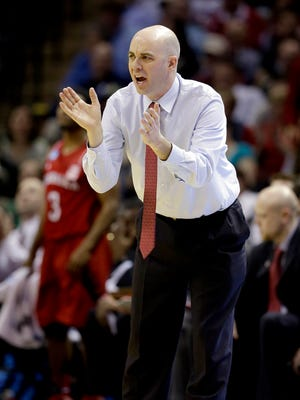 In Craig Smith's last game as an assistant coach at Nebraska, he took over for Tim Miles after the Cornhusker head coach was ejected.