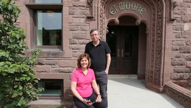 Peggy and Tom Brennan, cofounders of the Green Garage, also developed the El Moore apartment building in Midtown Detroit.