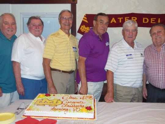 Class of 55 The Mater Dei Class of 1955 hosted a reunion