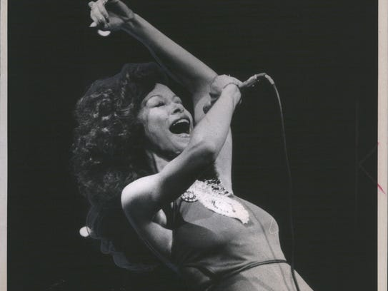 Freda Payne at Detroit's Masonic Temple in 1973