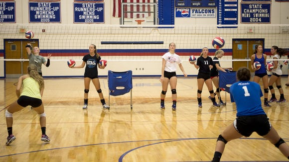 West Henderson is the No. 1 team in NCHSAA 3-A volleyball.