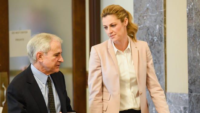 Erin Andrews returns to court Tuesday in Nashville.