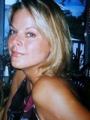 Julie Balink in 2009. Julie died from ovarian cancer
