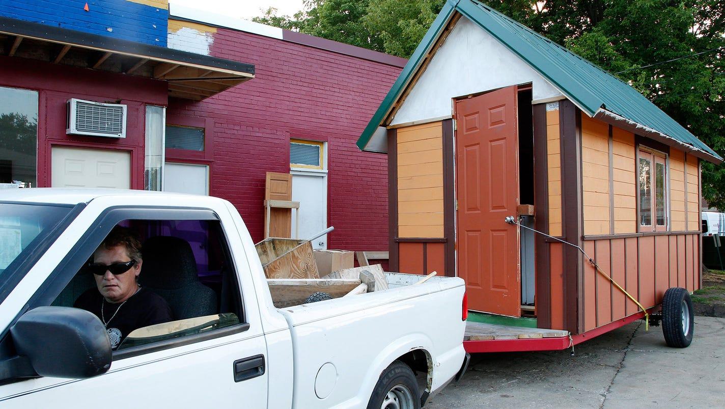 Tiny Houses Aim To Help Homeless