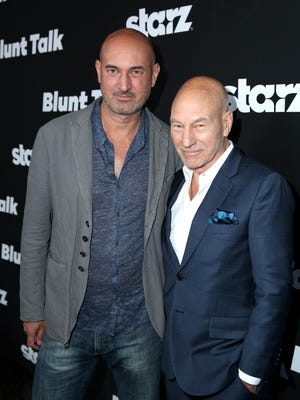 Daniel and Patrick Stewart play father and son in 'Blunt Talk.'
