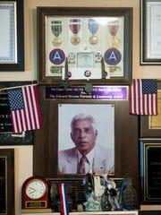 Some souvenirs of Edward Stevens World War II career