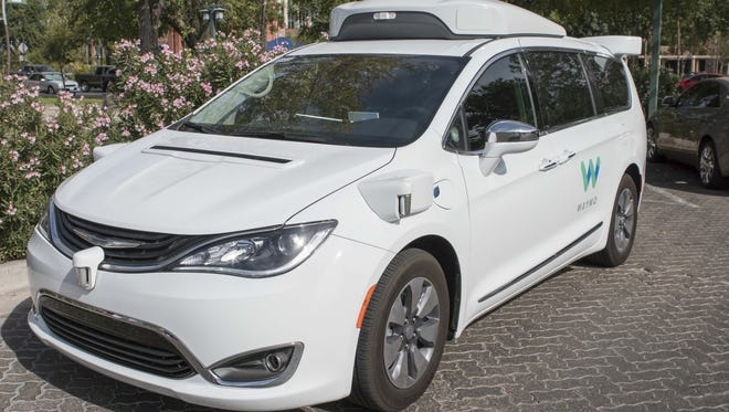 Waymo is testing self-driving vehicles in metro Phoenix.