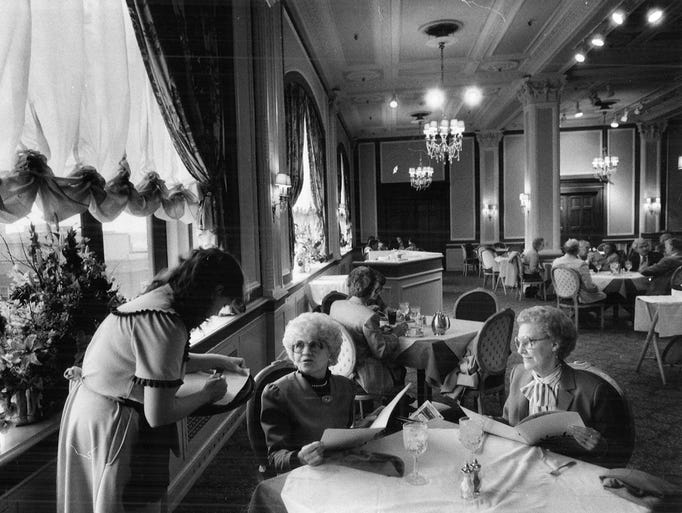 Downtown Des Moines Younkers Building Historic Tea Room