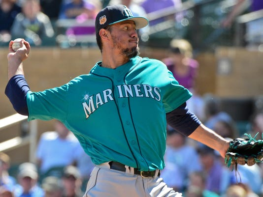 MLB: Spring Training-Seattle Mariners at Colorado Rockies