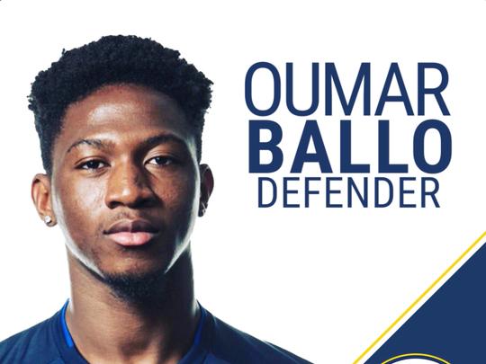 Nashville SC's Oumar Ballo