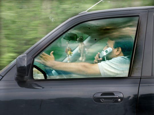 Delaware State Police data shows that 23percent of all reportable traffic crashes (6,095 total) in 2016 involved distracted driving.