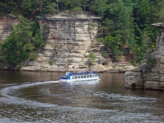 Dells of Wisconsin River