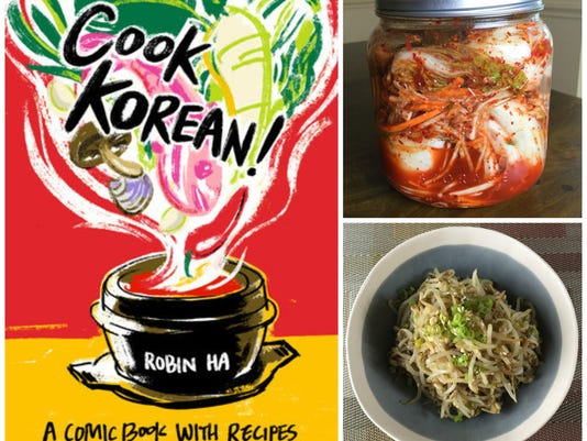 Kimchi alert! This charming 'comic book with recipes' makes Korean cooking a snap