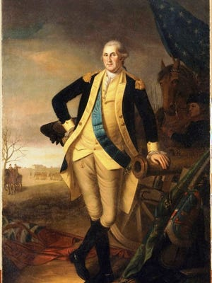 """Charles Wilson Peale painted """"George Washington at the Battle of Princeton"""" in 1779 to commemorate the general's Revolutionary War victories. Dr. Rick Whaley and Herman Bender return to the Fond du Lac Public Library to present the eight-part series, """"Big History: From the Revolution to the Mexican War."""" The weekly presentations will take place at 6 p.m. Wednesdays, Jan. 31 through March 28. The programs are free; no registration required."""