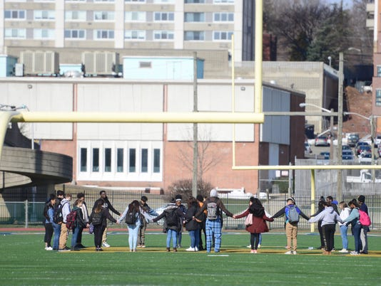 Hackensack Students Walkout