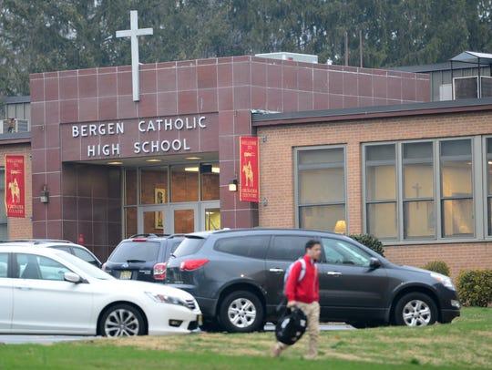 Bergen Catholic High School in Oradell on Tuesday,