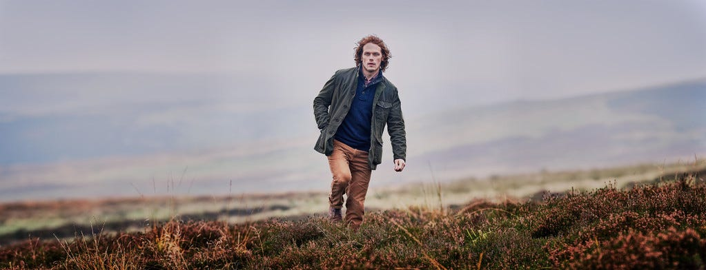 barbour sam heughan collection