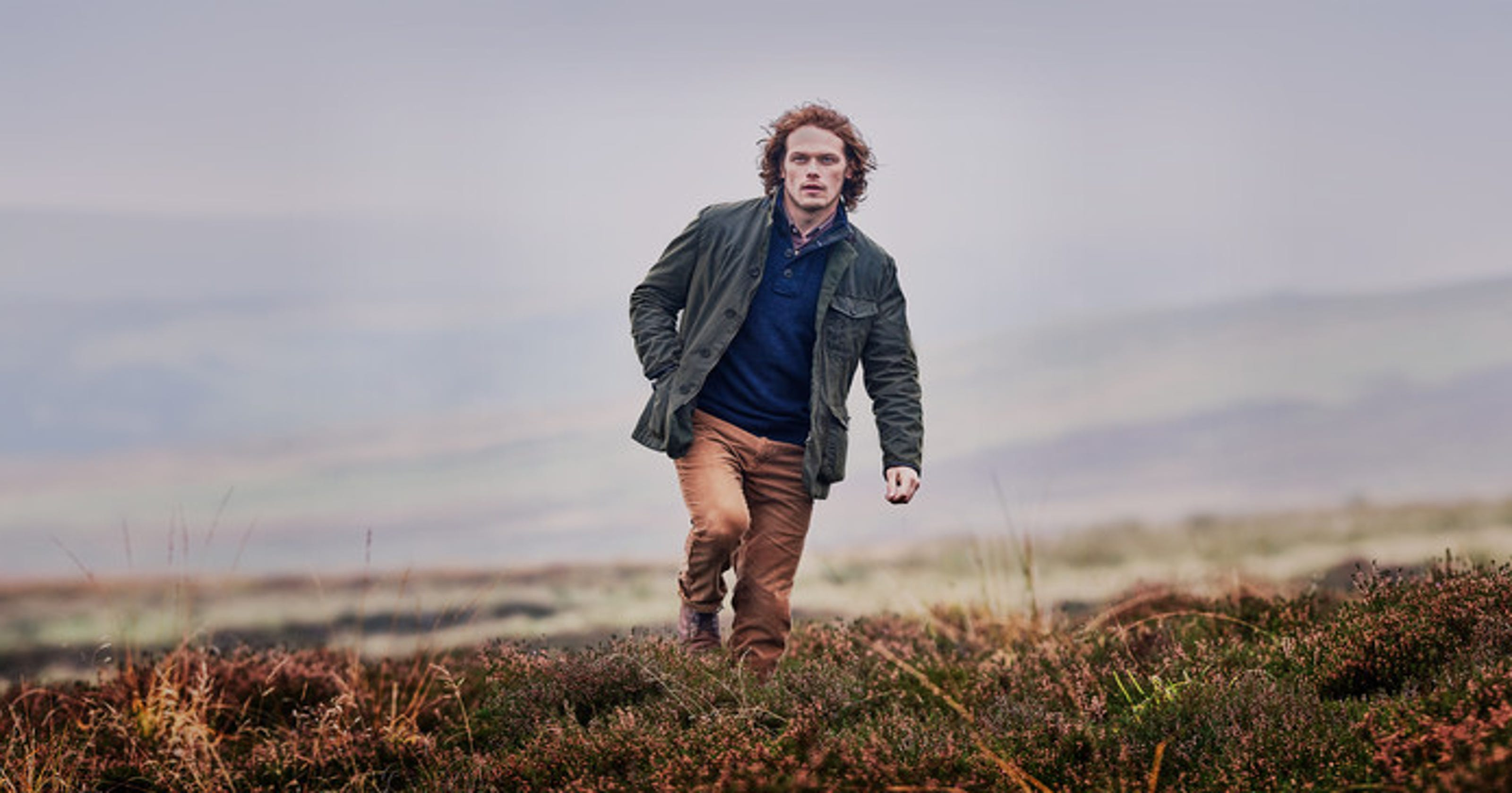 6b93a885f0f Sam Heughan s Barbour collection is here and it s all you d expect from the   Outlander  star