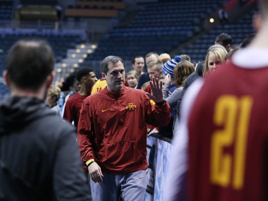ISU tournament practice -