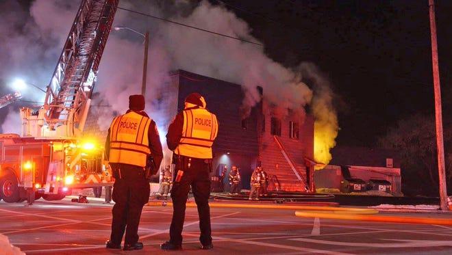 Fire struck the historic Fracaro's Lanes, 1430 Whiterock Ave., in Waukesha Sunday night, according to a Waukesha police dispatcher.