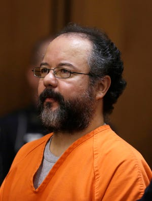 Ariel Castro sits in the courtroom during the sentencing phase on Aug. 1 in Cleveland.