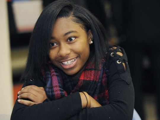 Makayla Link, 15, found herself in the Beyond Basics program at Mumford as a freshman last school year.